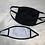 Thumbnail: Black Cotton Face Mask