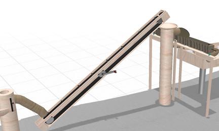 Projektierung Kugelbahn (Detail)