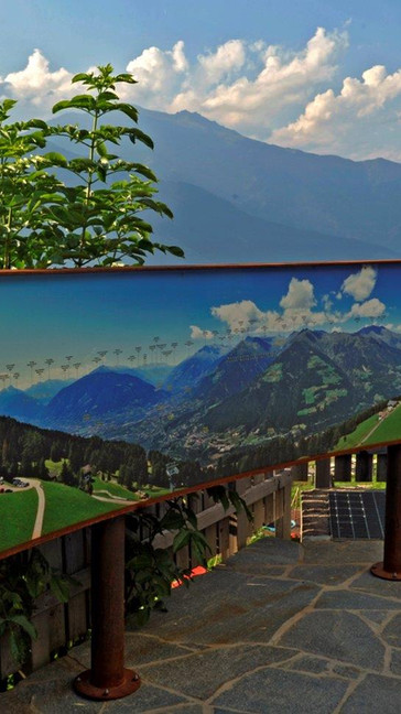 Taser Panoramaterrasse