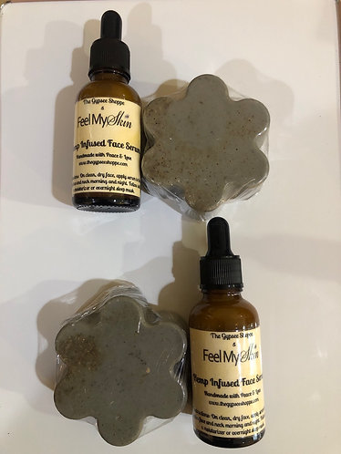 Facial Serum & Black Beauty Soap