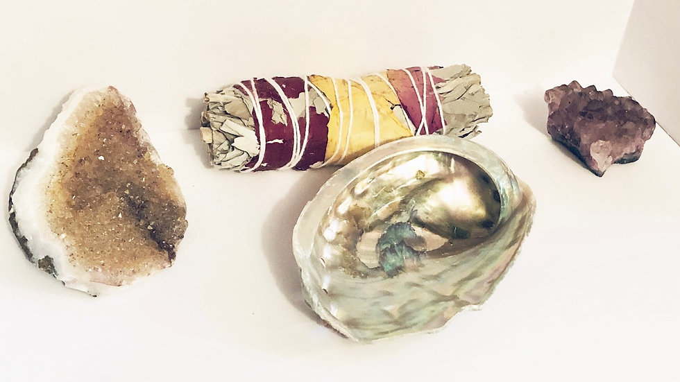 Handwrapped Herbal Bundle