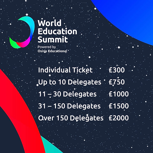 World Education Summit Tickets