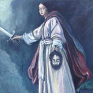 Judith mit dem Haupt des Holofernes, nach Cristofano Allon