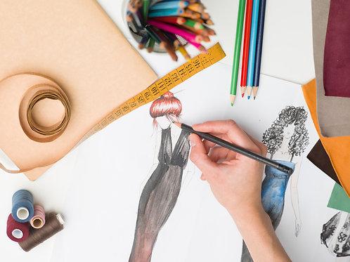 Ilustración de la moda