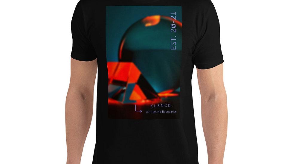 Men's Short Sleeve T- Shirt  (Art Has No Boundaries)