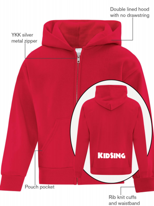 Zip-Up Hoody (Youth)