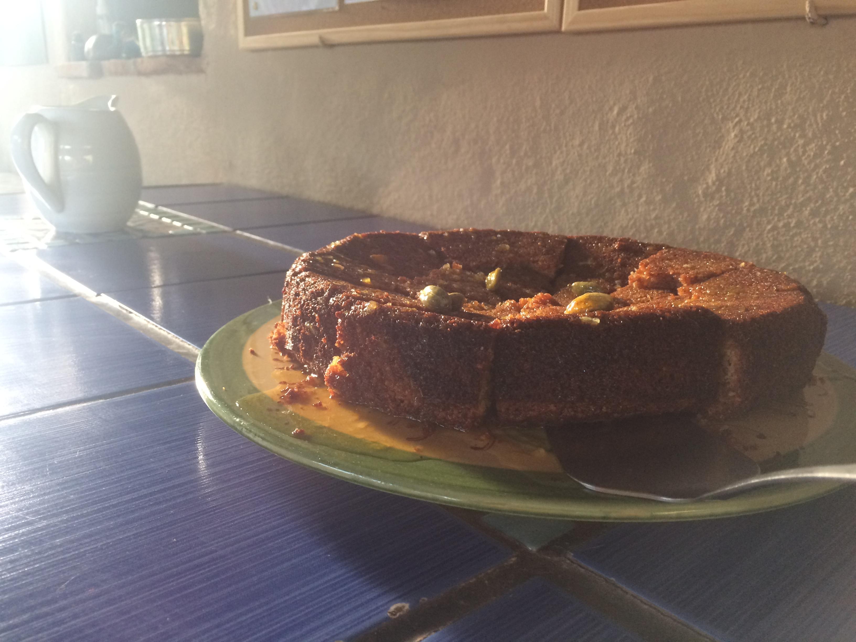 Cake (gluten and dairy free!)