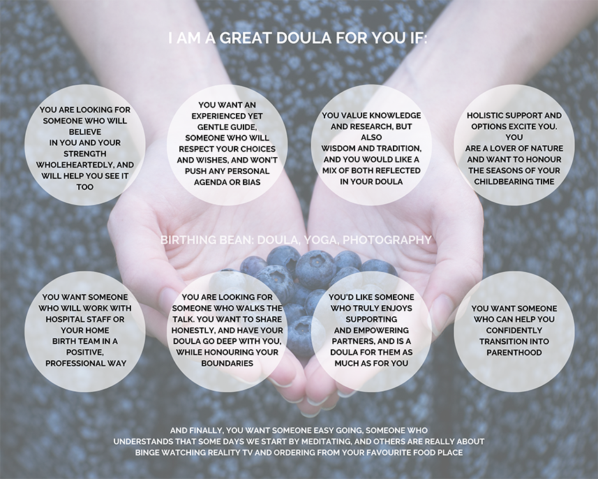 I AM A GREAT DOULA FOR YOU IF _smaller.p