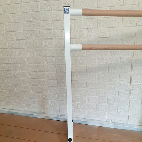 Double spigot ballet barre support