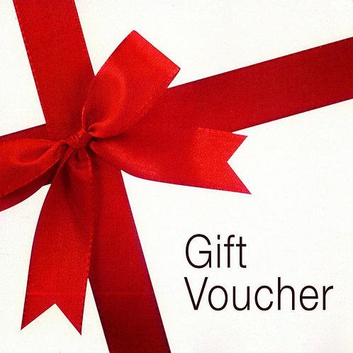 Gift Vouchers £5, £10, £20, £50