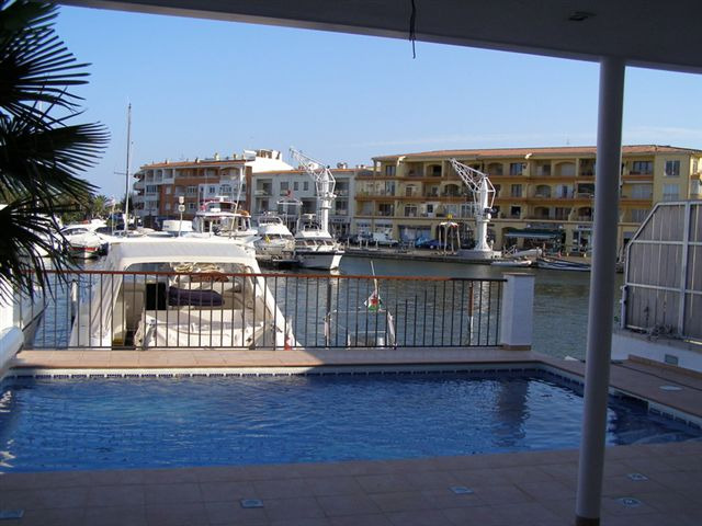 Typical Empuriabrava Villa