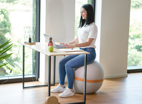 La meilleure alternative à la swiss ball au bureau