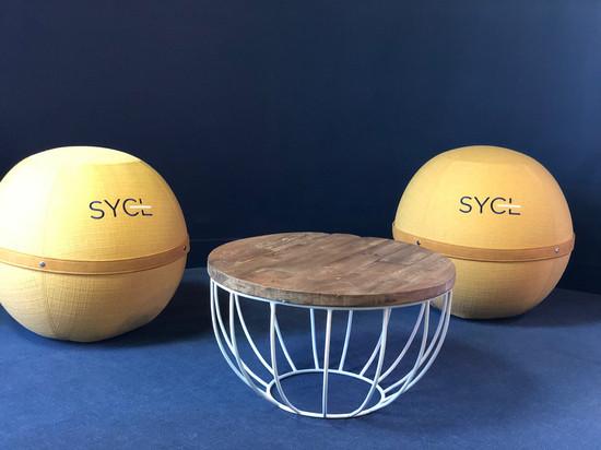 siège ballon bloon paris personnalisé SYCL