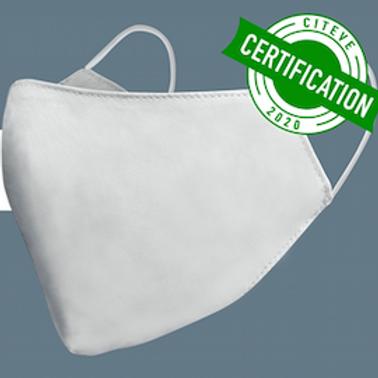 Masque Filtrant Lavable Certifié V2 - PACK 10 Masques