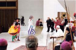 Actuando para el Papa Francisco.jpeg
