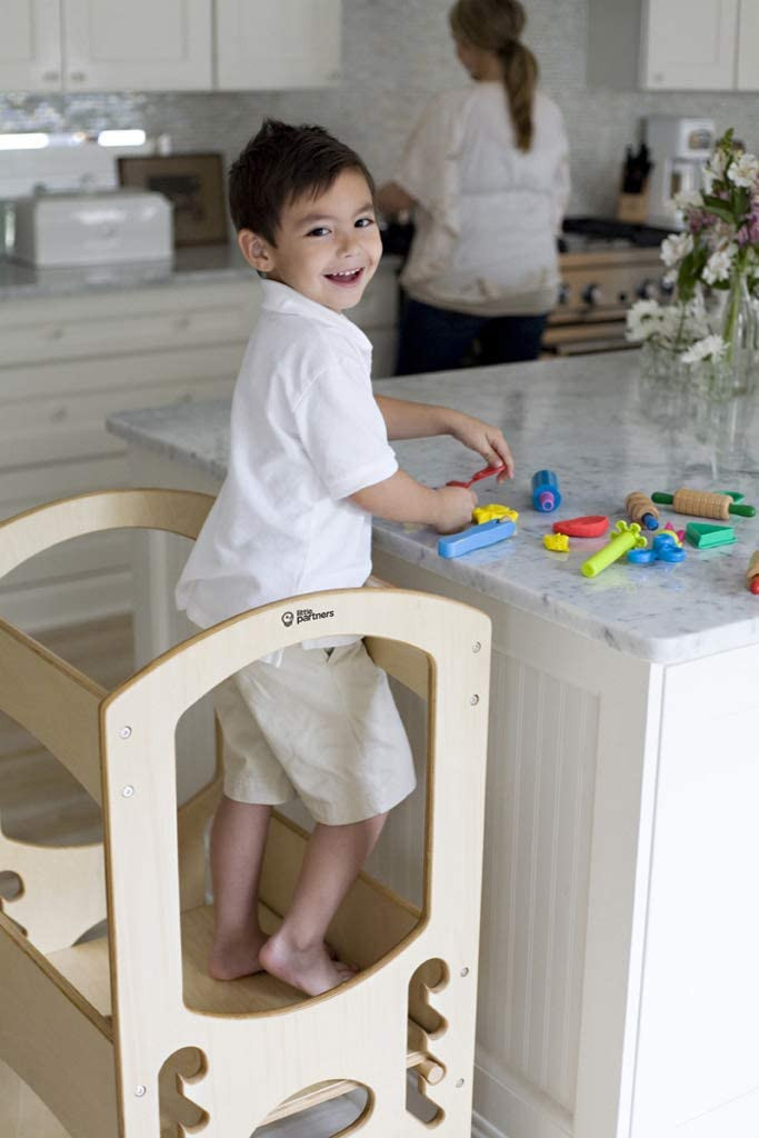 boy stepping stool kitchen, gifts for kids