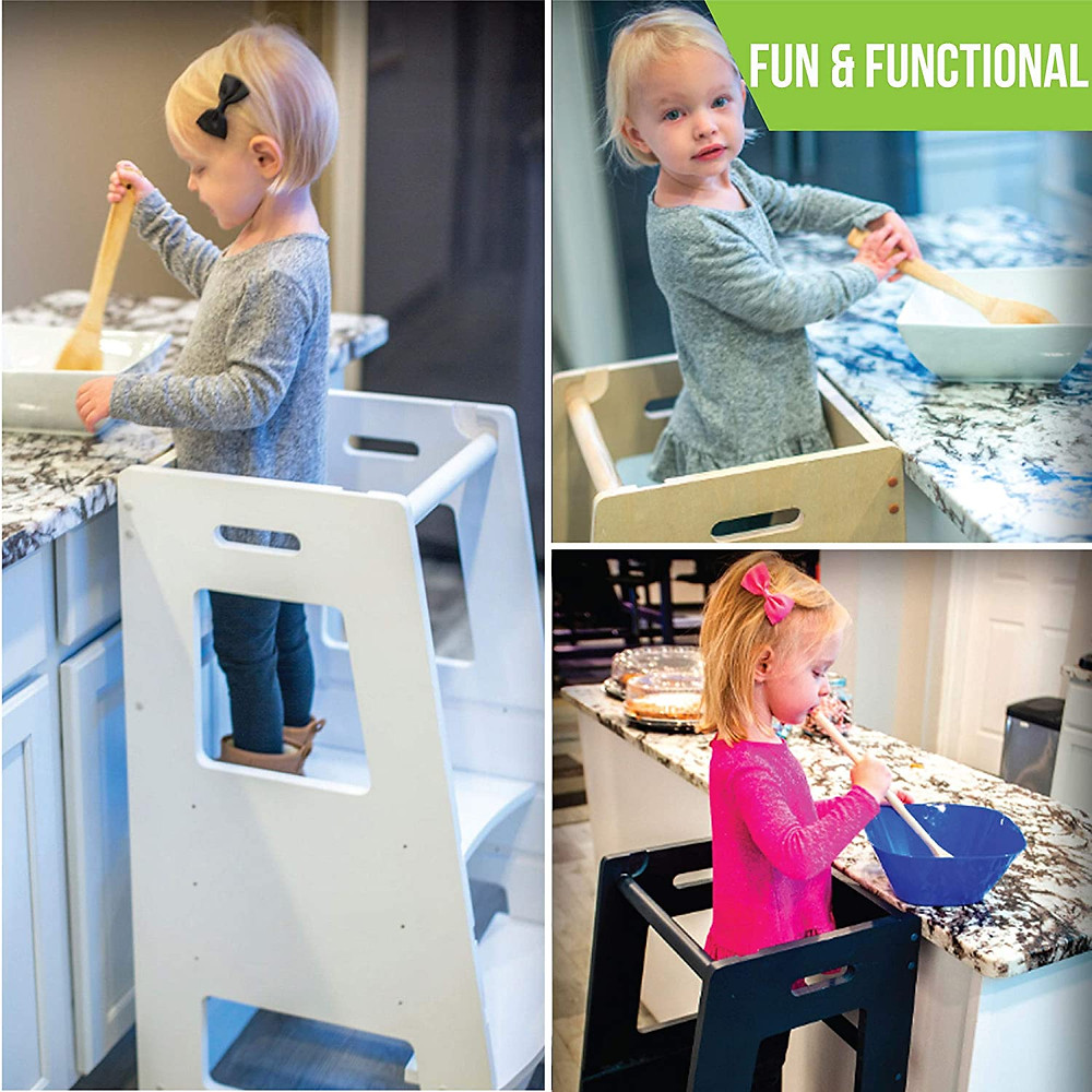 girls, stepping stool kitchen, gifts for kids