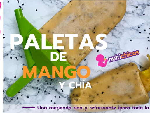 Paletas de Mango with Yogurt-a healthy kid's snack your entire family will love!