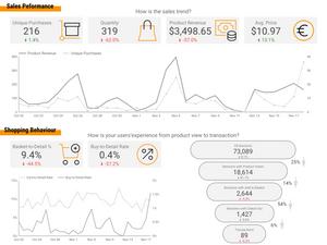 Sales & Shopping Behavior Dashboard - My Digital Lab