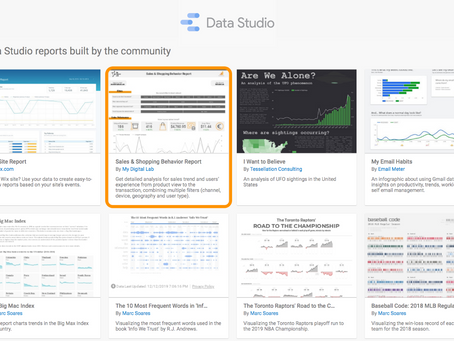 Marketing Reporting: Become more efficient with Data Studio