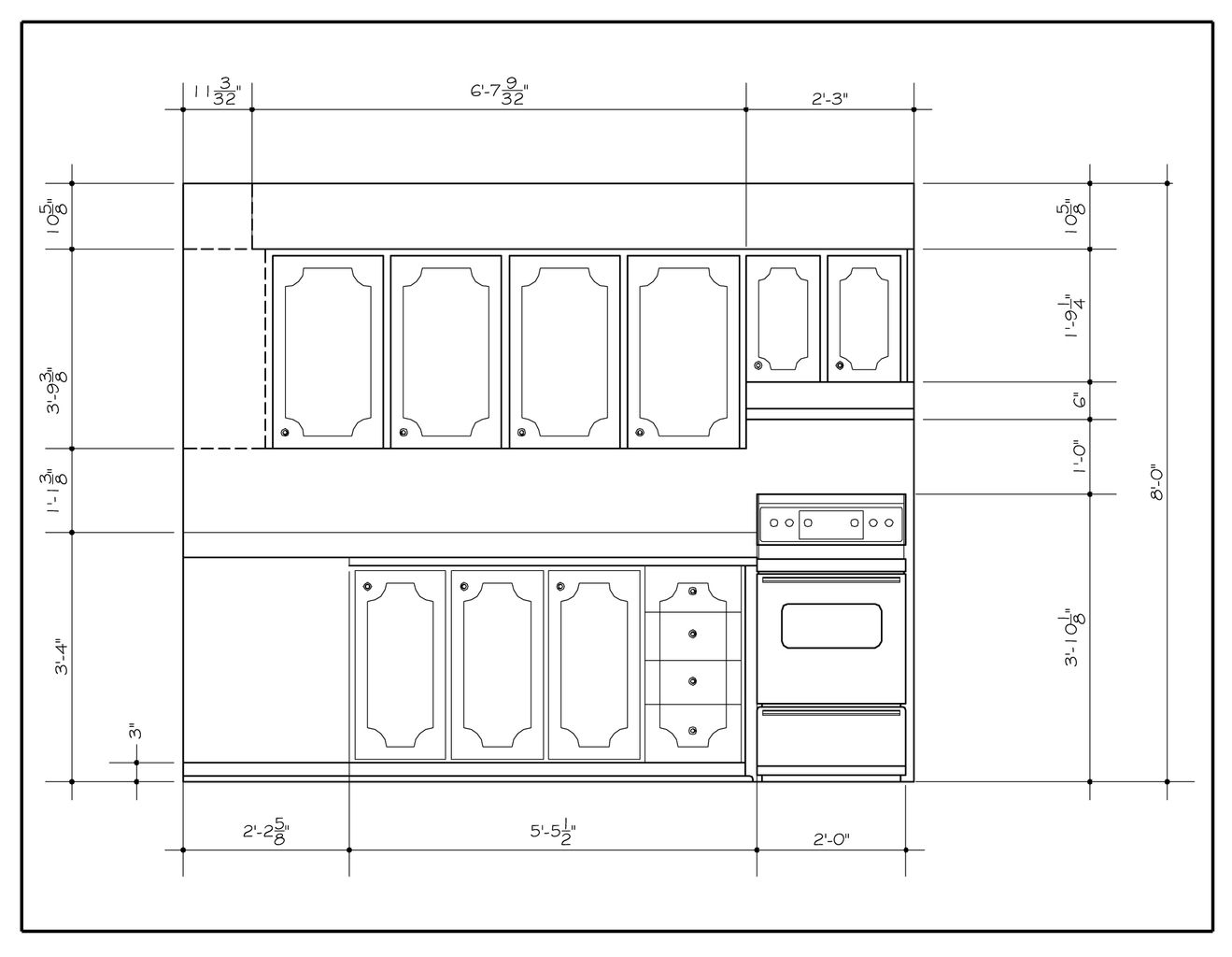 Kansas City Kitchen Cabinets Kitchen Elevation Drawings In Autocad Joy Studio Design