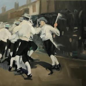 Box Brownie Morris Dancers
