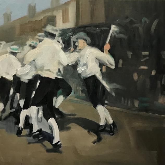 Box Brownie - Morris dancers