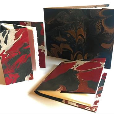 Softbacked small sketchbooks