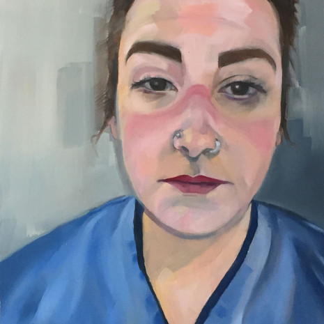 NHS nurse from Glasgow, 'After the shift'