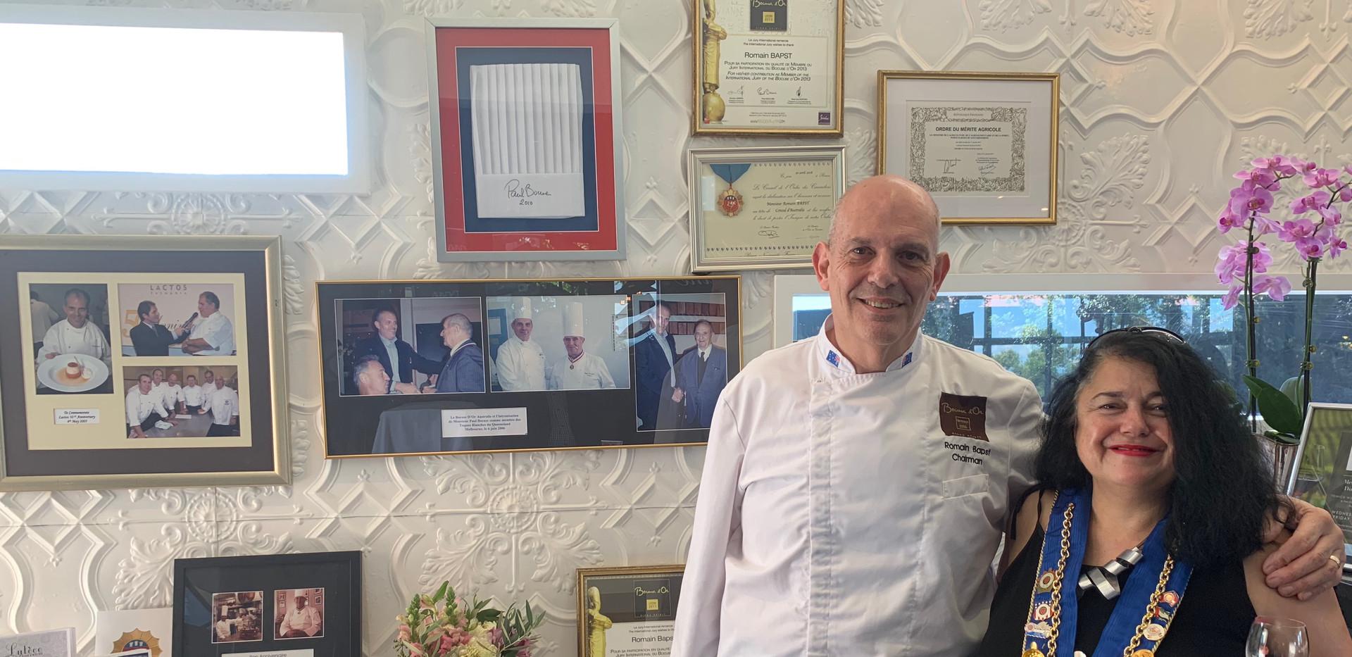 Chef_Romain_Bapst_with_Petra_Harmer-Shro