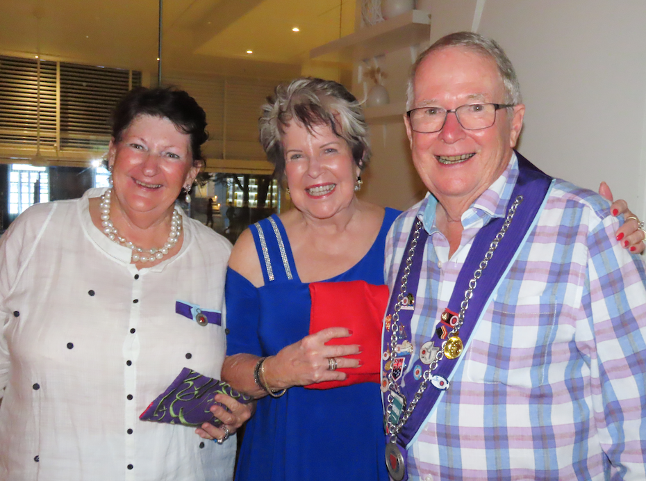 Three old members from the Townsville Bailliage