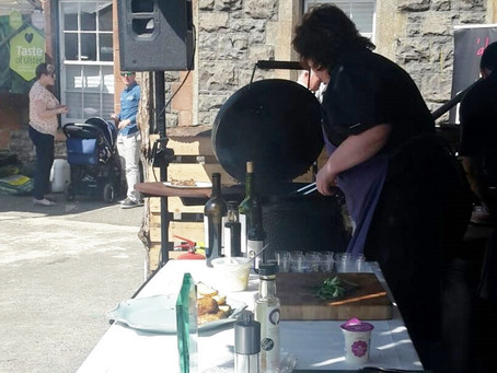 Cooking Up a Storm at Dalriada Festival