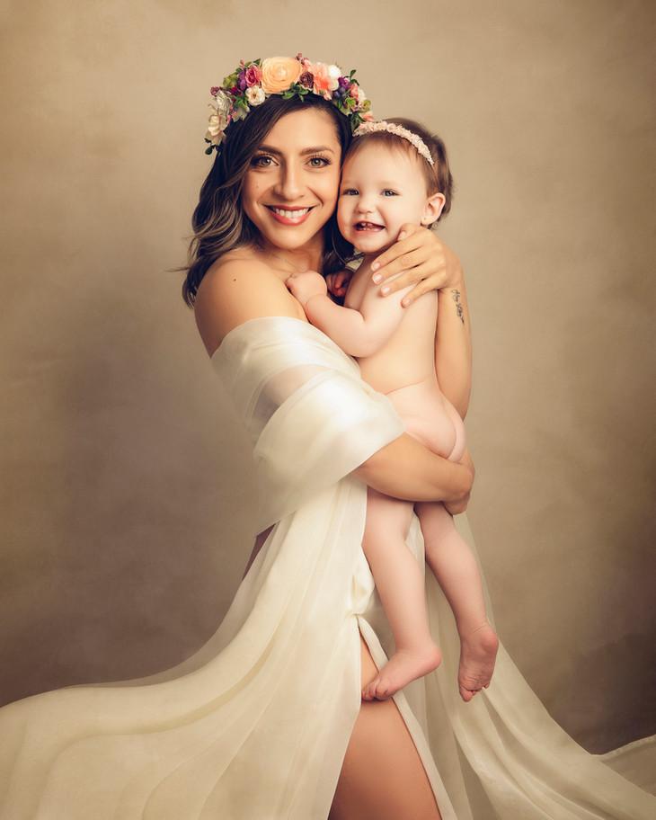 Fotografia Fineart maternidad familia be