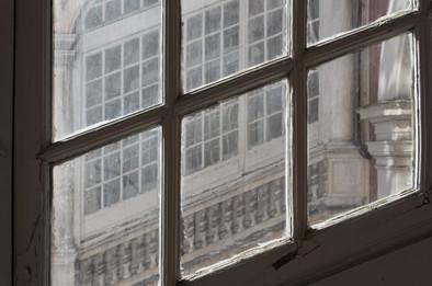 Finestre a Palazzo Reale