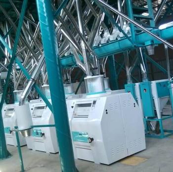 82t wheat flour milling line
