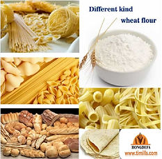 hongdefa wheat flour milling machine produce different kind of what flour