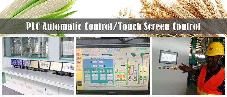 plc and touch screen control system in m