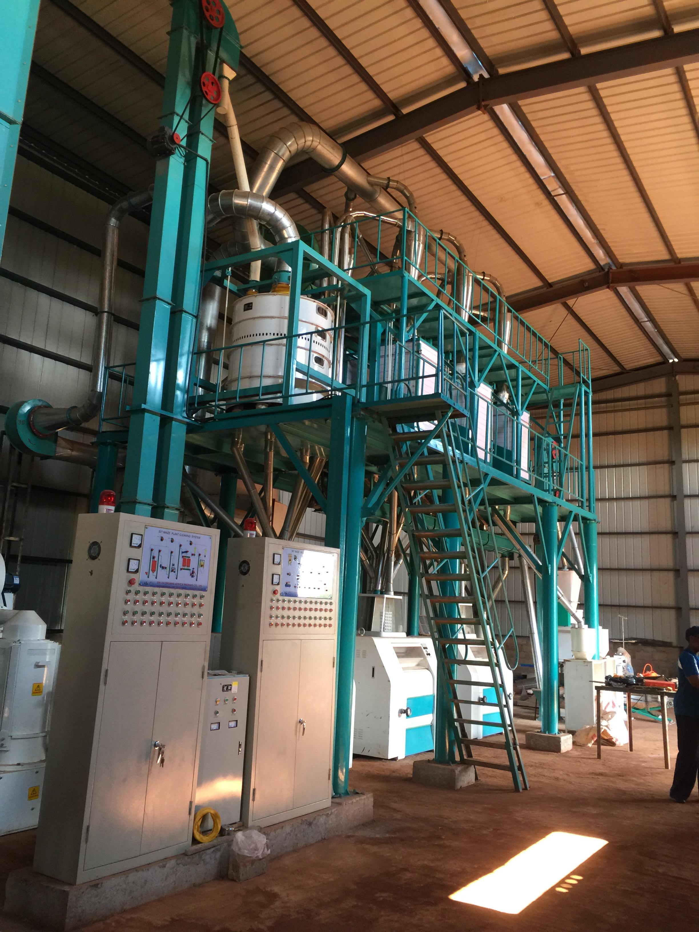 50T maize milling machines