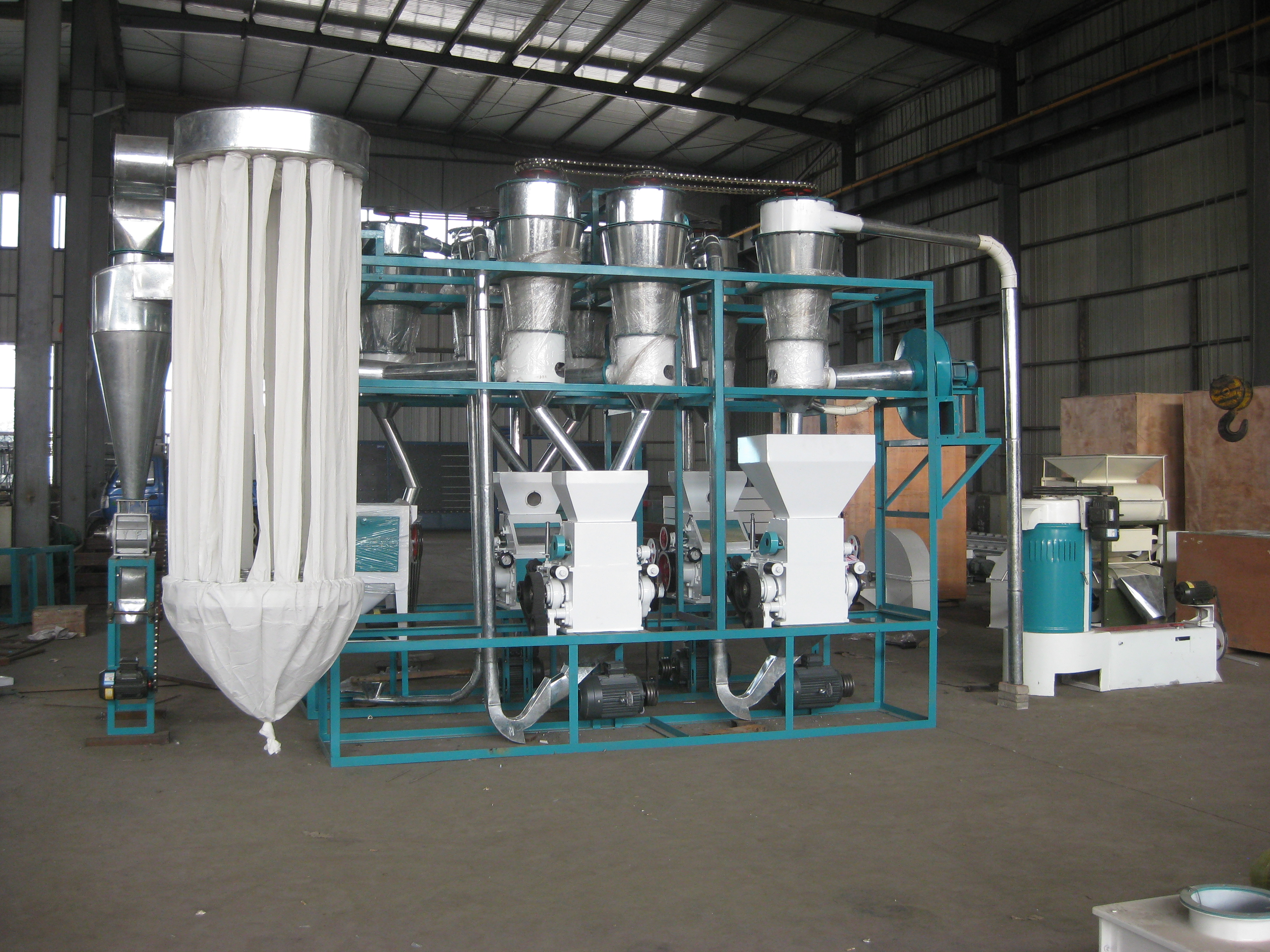 quality wheat flour milling machines 10t per day flour mill (1)