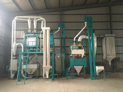 complete 10t maize milling machines