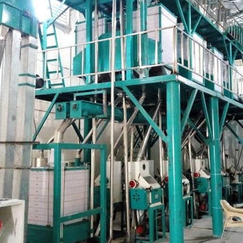 42t wheat flour milling line from hongdefa machinery