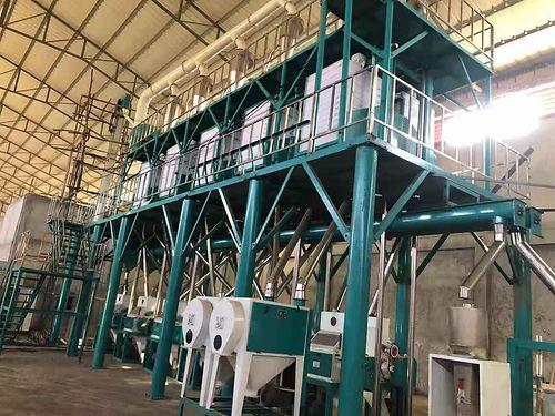 wheat flour milling line from hongdefa m