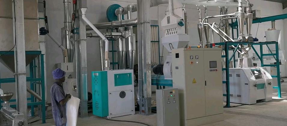 30T maize flour milling machine in Uganda