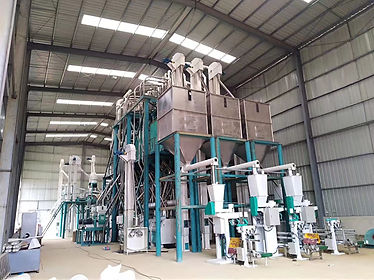 hongdefa machinery 240t maize mill in An