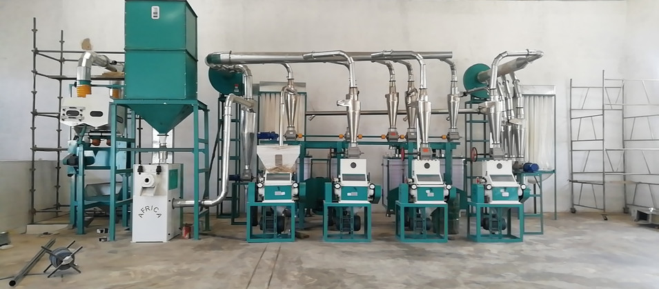 30tpd maize meal mill in Kenya