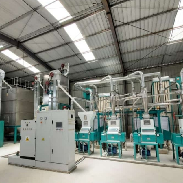 30t maize milling line from hongdefa mac