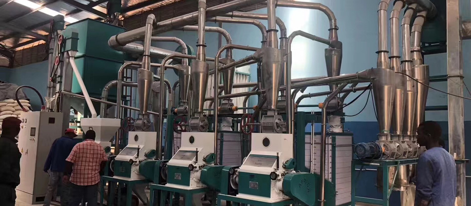 1.25t per hour maize meal mill equipment in Zambia