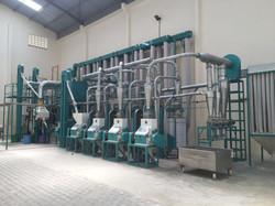 complete auto maize milling machine