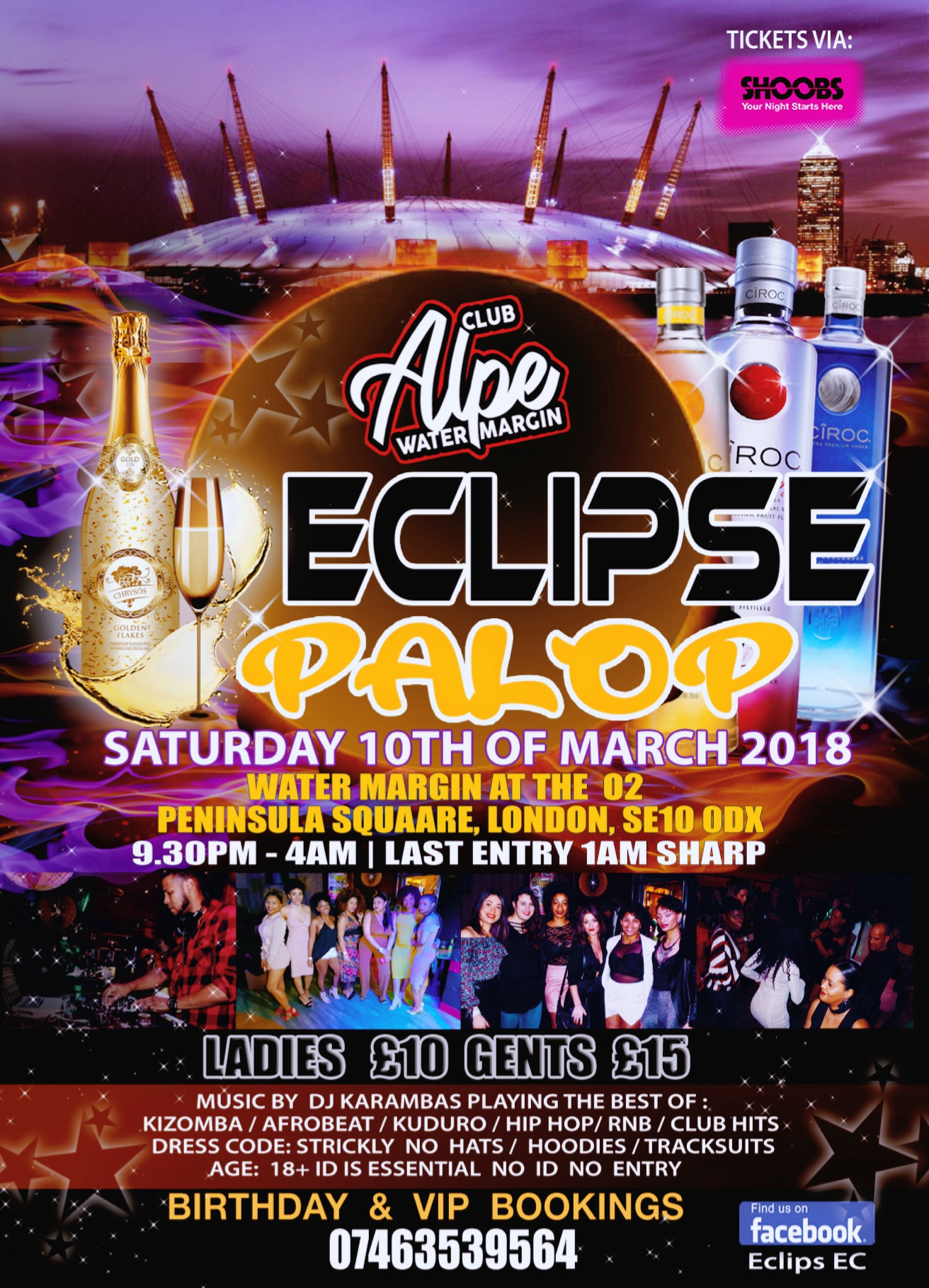 Flyer Design for Eclips Ec