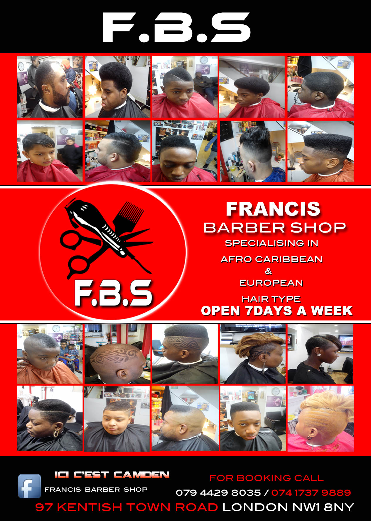 Francis Barber Shop
